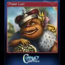 Power Lust
