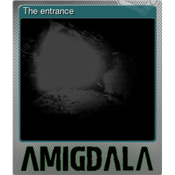 The entrance (Foil Trading Card)