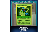 Detergent Trading Card Card Card
