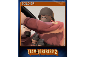 Soldier Trading Card