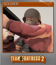 SOLDIER (Foil Trading Card)