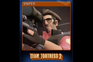 Sniper Trading Card