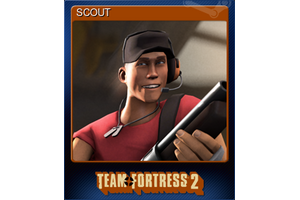 Scout Trading Card