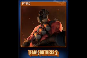 Pyro Trading Card