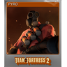 PYRO (Foil Trading Card)