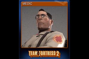 Medic Trading Card