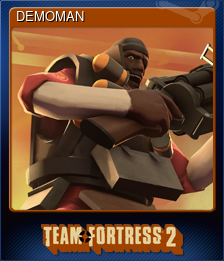 DEMOMAN (Trading Card)