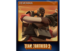 Demoman Trading Card