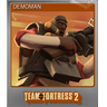 DEMOMAN (Foil Trading Card)