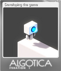 Developing the game
