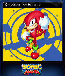 Buy Knuckles the Echidna (Trading Card) from Steam | Payment
