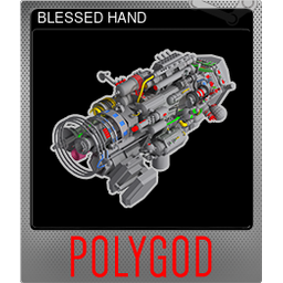 BLESSED HAND (Foil)