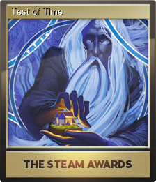 Test of Time (Foil Trading Card)