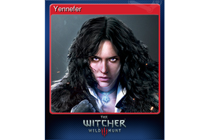 Yennefer Trading Card