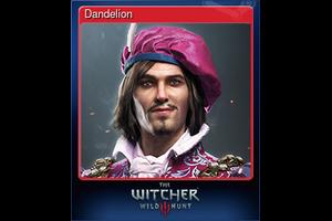 Dandelion Trading Card