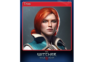 Triss Trading Card