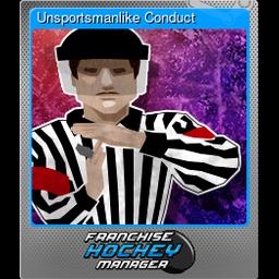 Unsportsmanlike Conduct (Foil)