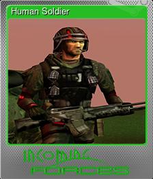 Human Soldier (Foil)