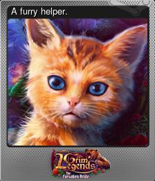 A furry helper. (Foil)