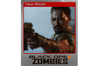 Takeo Masaki (Foil Trading Card)