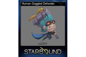 Human Goggled Defender
