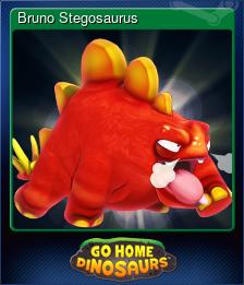 Bruno Stegosaurus
