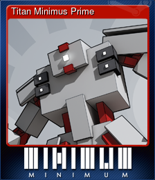 Titan Minimus Prime (Trading Card)