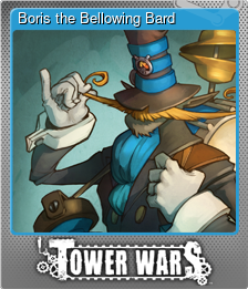 Boris the Bellowing Bard (Foil)