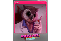 Owl (Foil Trading Card)