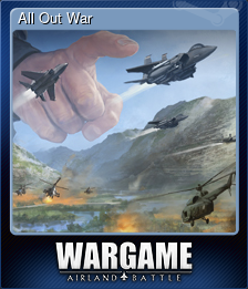 All Out War (Trading Card)