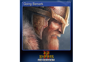Going Berserk Trading Card