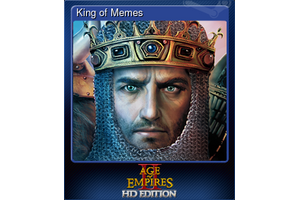 King Of Memes Trading Card