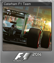 Caterham F1 Team (Foil)