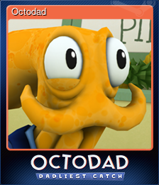 Octodad (Trading Card)