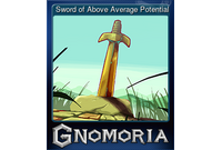 Sword of Above Average Potential (Trading Card)