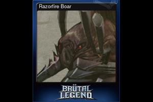 Razorfire Boar