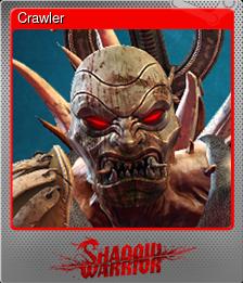 Crawler (Foil Trading Card)
