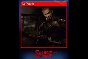 Lo Wang Trading Card