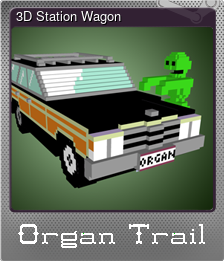 3D Station Wagon (Foil)