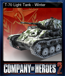 T-70 Light Tank - Winter