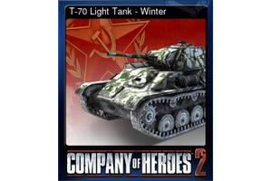 T 70 Light Tank Winter