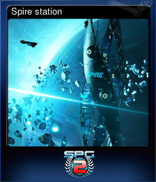 Spire station (Trading Card)