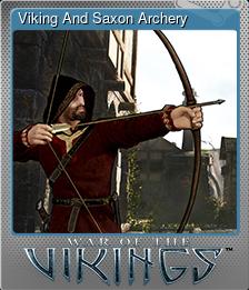 Viking And Saxon Archery (Foil)