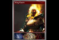 King Kaom (Foil Trading Card)