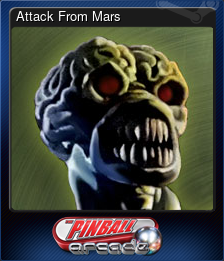 Attack From Mars (Trading Card)