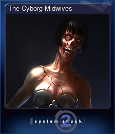 The Cyborg Midwives (Trading Card)