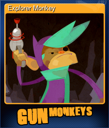 Explorer Monkey (Trading Card)