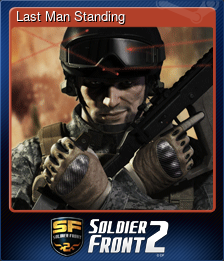 Last Man Standing (Trading Card)
