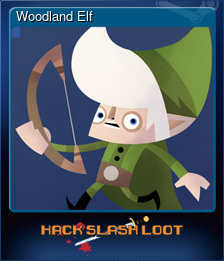 Woodland Elf (Trading Card)