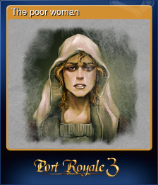 The poor woman